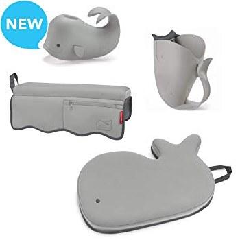 Moby Bathtime Essentials Grey