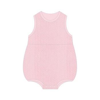 Pink Pointelle Bubble 6-9m
