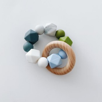 Multi Ring Teether Blue