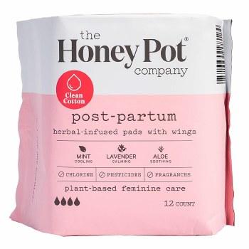 Postpartum Herbal Pads 12 pk