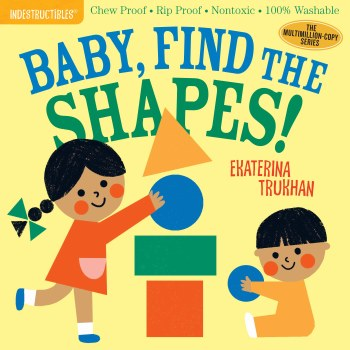 Indestructibles Baby Find the Shapes
