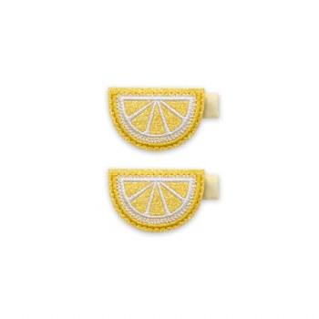 2pk Clips Lemon Slice