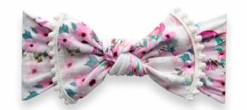 Trimmed Knot Flamingo Floral