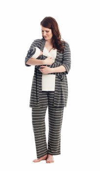 Analise Grey 5pc PJ Set Small