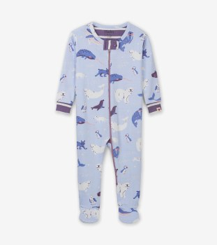 Coverall Polar Critters 6-9m