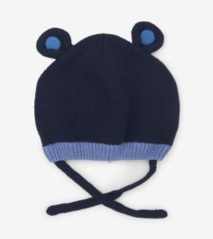Blue Bear Ears Hat XS/S