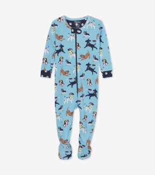 Footed Coverall Pups 0-3m