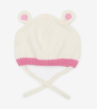 Polar Bear Ears Hat XS/S