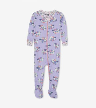 Footed Coverall Sheep 6-9m