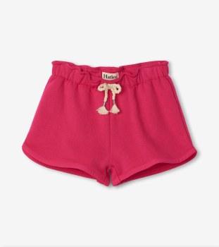 Fuchsia Terry Shorts 8