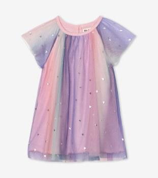 Baby Rainbow Tulle Dress 4T