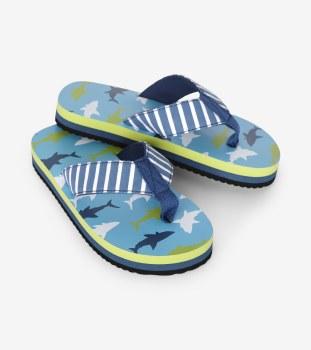 Flip Flops Sharks Medium