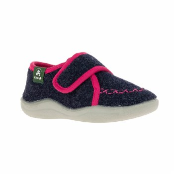 Cozy Lodge Slippers Navy 12