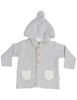 Knit Jacket Baba Sheep Grey 2Y