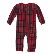 Coverall Christmas Plaid 12-18