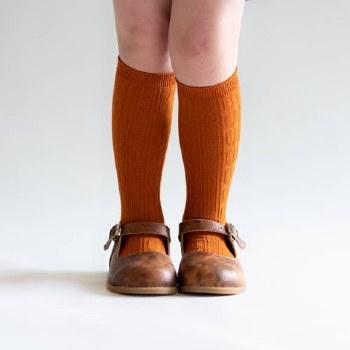 Knee High Pumpkin Spice 0-6m