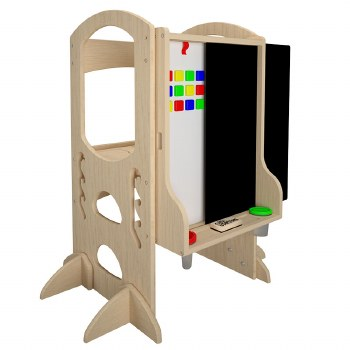 Learn & Share Easel Natural