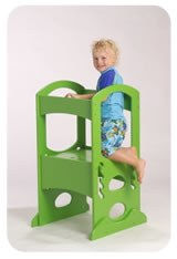 Learning Tower Apple Green