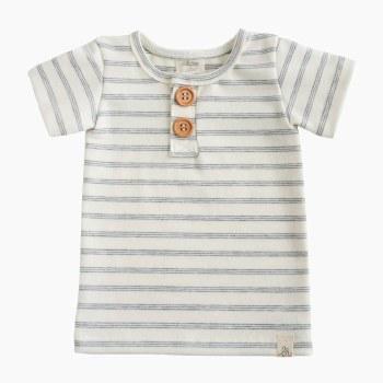Button Shirt Shipley Stripe 12-18m