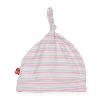 Hat Pink Stripe NB