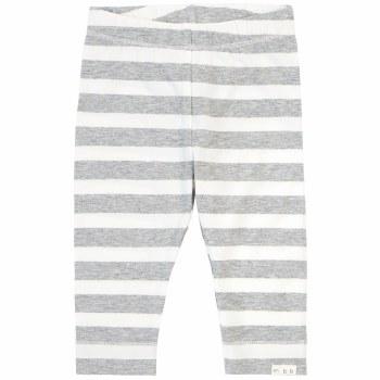Grey Stripe Knit Pant 3T