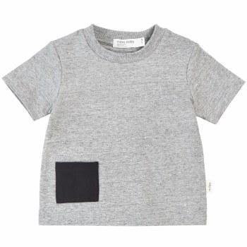 Baby Pocket Tee Grey 24m