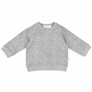 Baby Knit Sweatshirt Grey 18m