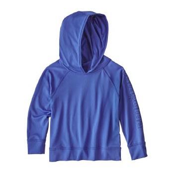 Baby Cap Sun Hoody Blue 6m