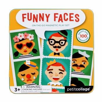 Faces On-the-Go Magnetic Play