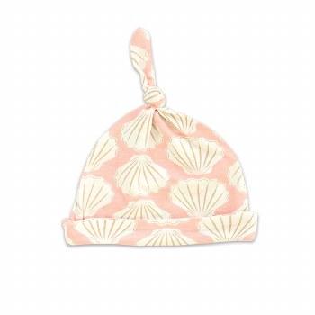 Knot Hat Seashell 6-12m