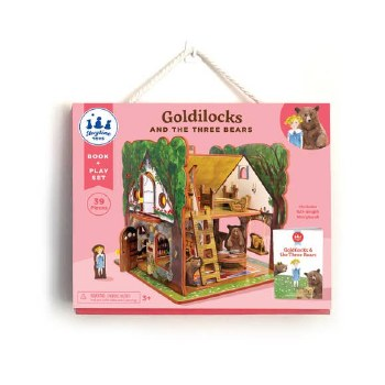 Goldilocks Book and Play Set