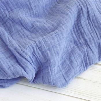 Muslin Blanket Blue