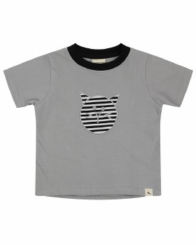 Cat Applique Tshirt 5-6y