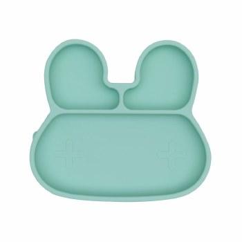 Bunny Stickie Plate Mint