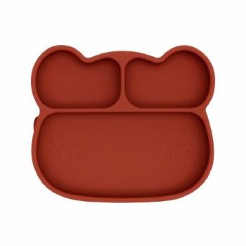Bear Stickie Plate Rust