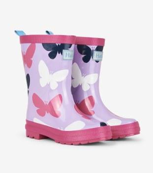 Rain Boots Butterflies 6T