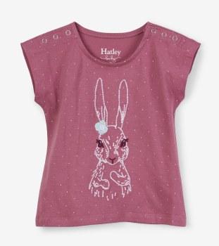 Pretty Bunny Baby Tee 12-18m
