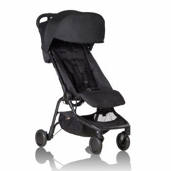 Nano Travel Stroller Black