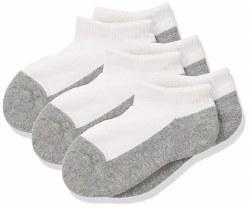 Seamless Sport Low Cut Half Cushion 6pk Grey