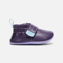Leo Crib Shoe Purple 12m
