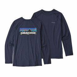 Boys' Rashguard Navy Medium