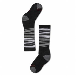 Wintersport Stripe Black XS