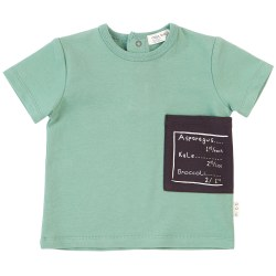 Pocket Tee Kale 3T