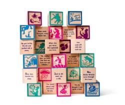 Nursery Rhyme Blocks 28 pieces