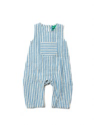 Dungarees Blue Stripe 2-3Y