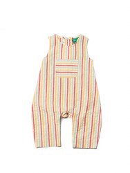 Dungarees Sunset Stripe 12-18m