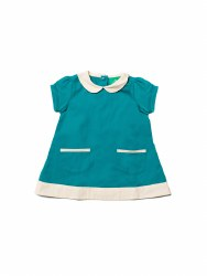 Tunic Dress Emerald 5-6Y