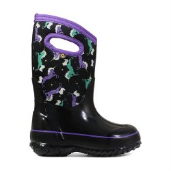 Kids' Classic Unicorn Black 13