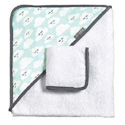 Hooded Towel Cloudy