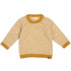 Gold Knit Sweater 4/5T